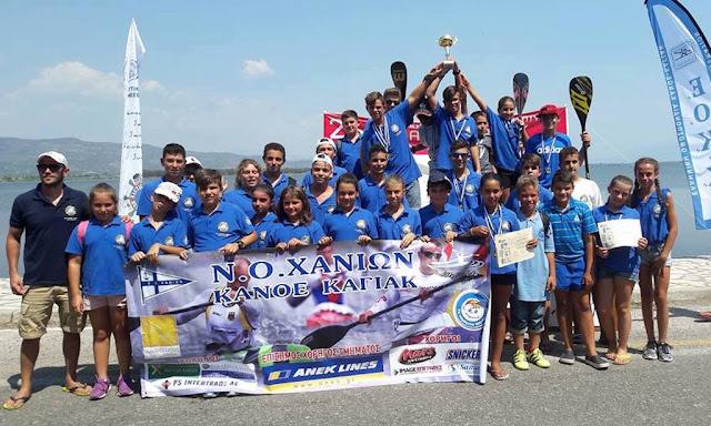 Πρωταθλητής Ελλάδας ανάπτυξης στο SUP ο ΝΟ Χανίων