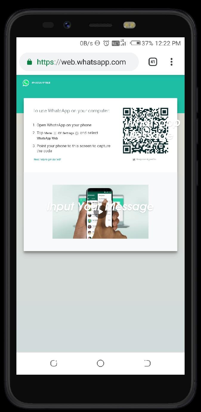 Jio Whatsapp Install
