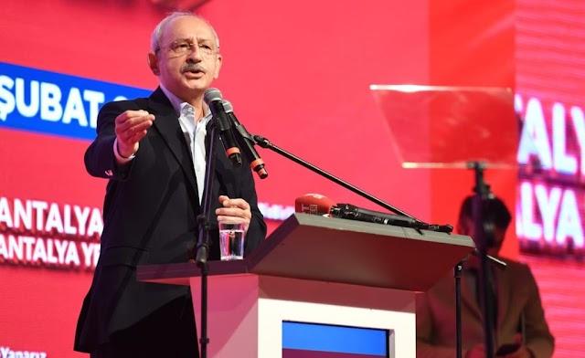 Kılıçdaroğlu, Urfa üzerinden hükümete yüklendi