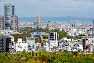 Modern Osaka Japan