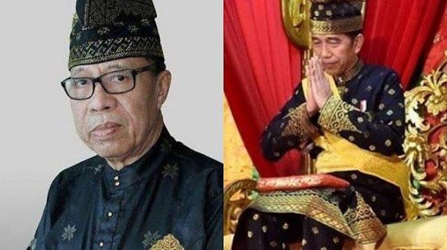 Jokowi Diberi Gelar Kehormatan, Syarwan Hamid Kembalikan Gelar ke LAM Riau