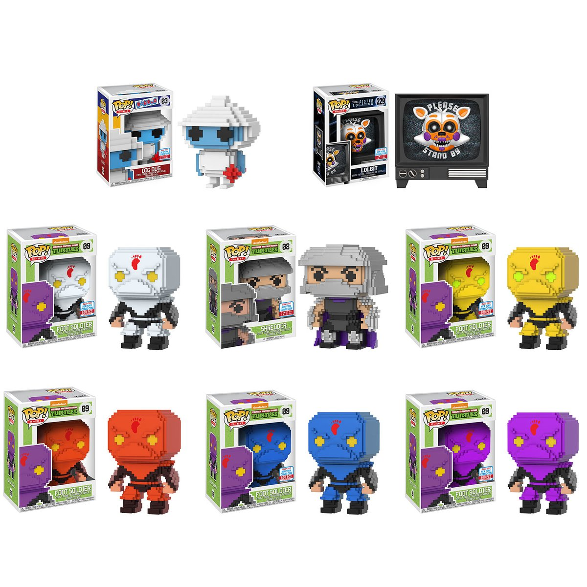 As With Their San Diego Comic Con 2017 Exclusives Most Of Funkos New York Are Shared Another Retailer Which Will Be