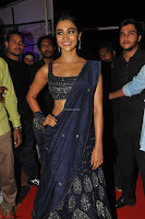 Pooja Hegde choli saree at DJ Duvvada Jaggannadham music launch ~  Exclusive 135.jpg