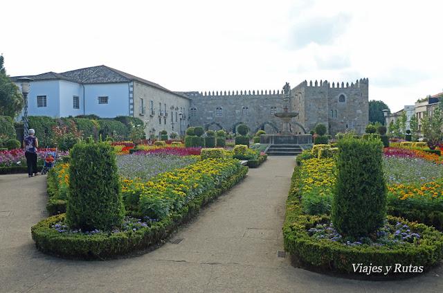 Jardines de Santa Bárbara, Braga