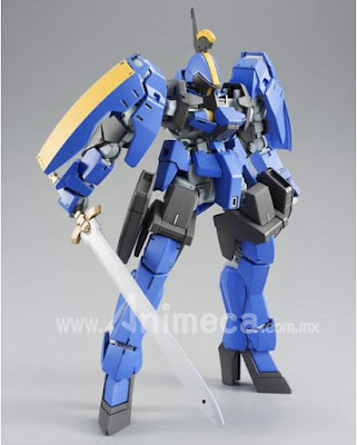Graze Ritter McGillis's Custom HG 1/144 Model Kit Mobile Suit Gundam Iron-Blooded Orphans