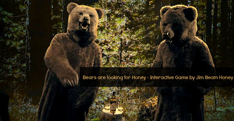 Bears are looking for Honey | Mit Jim Beam auf Honigjagd ( Interaktiver Clip | Sponsored )
