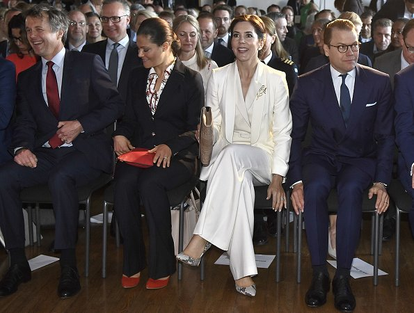 Crown Princess Mary, Crown Prince Frederik, Crown Princess Victoria, Prince Daniel Official visit from Denmark to Stockholm