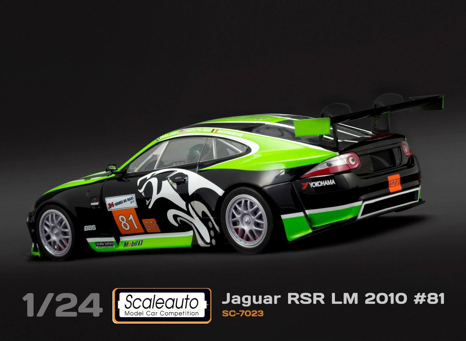 ManicSlots' slot cars and scenery: NEWS: Scaleauto Jaguar RSR GT2