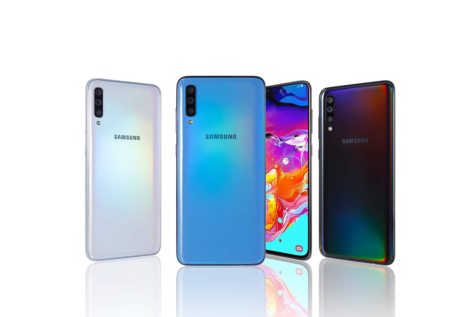 "Samsung unveiled the Galaxy A70 at ""A Galaxy Event"" last April 10 in Korea."