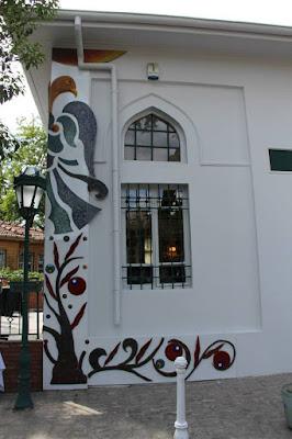 Caferiye Tekkesi mozaikleri - İstanbul Bir Masal