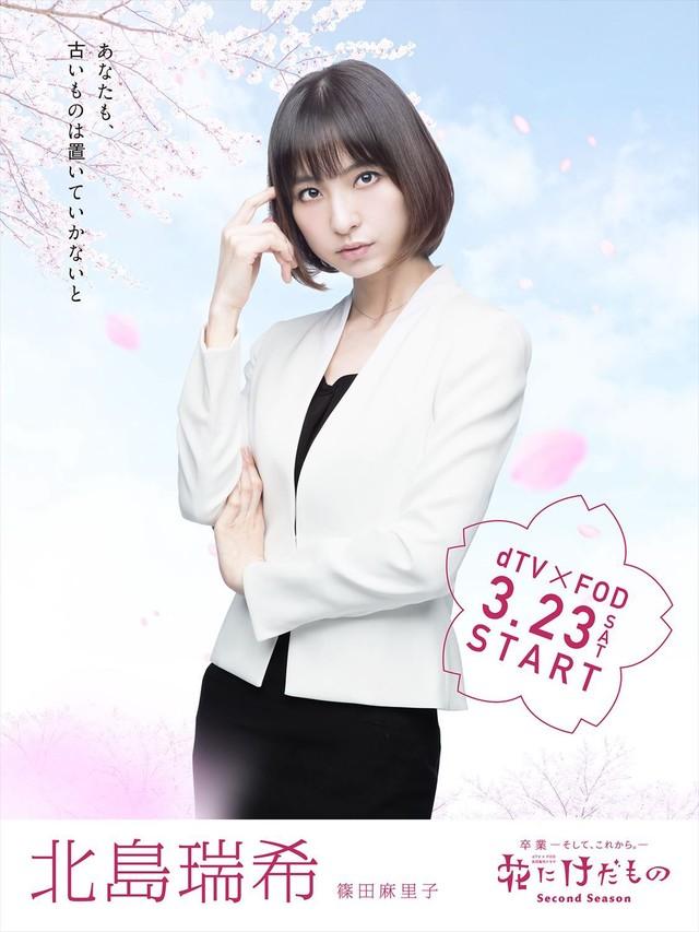 Mariko Shinoda sebagai Mizuki Kitajima