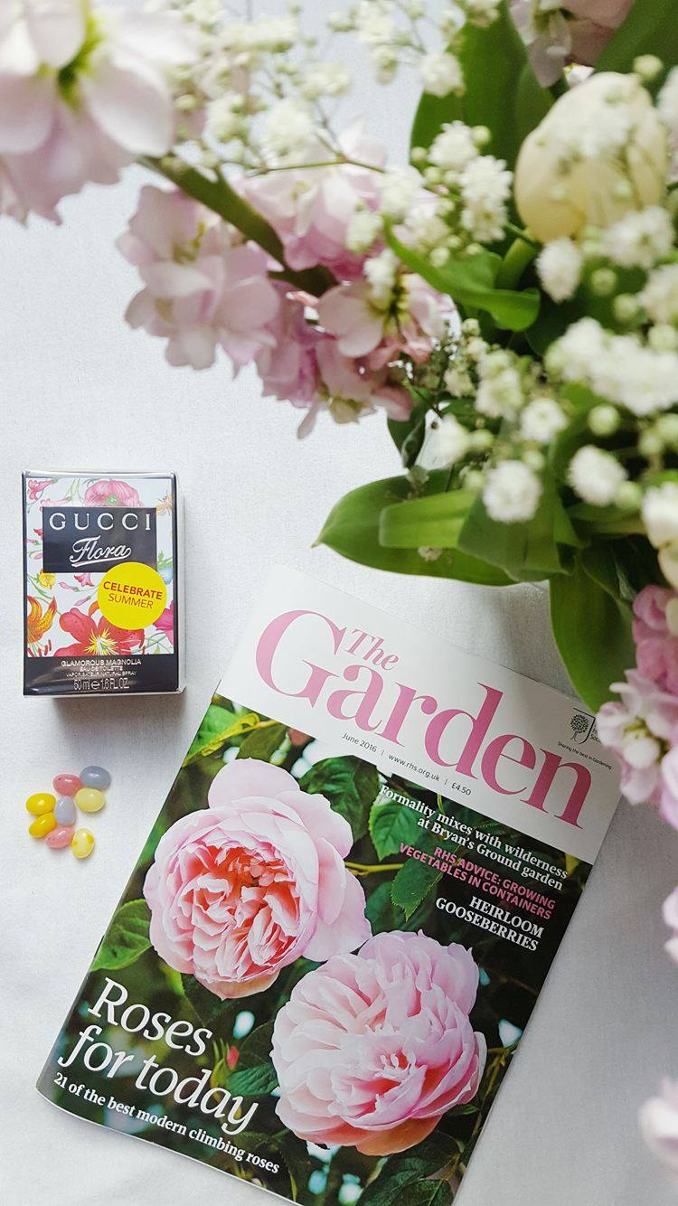 Spring-Flowers-RHS-Magazine-Jelly-Beans-Gucci-Perfume