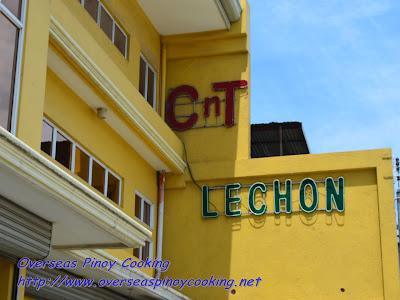 CNT Lechon Cebu Yellow Building