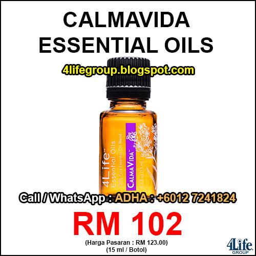 foto 4Life Essential Oils CalmaVida
