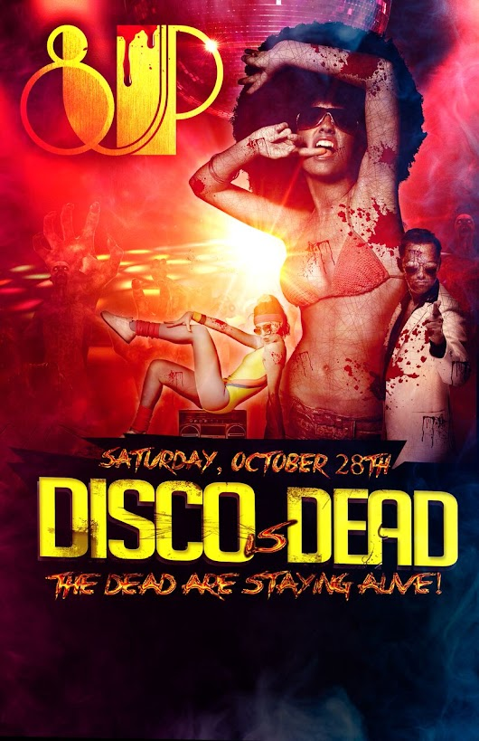 Disco is Dead: Halloween at 8UP