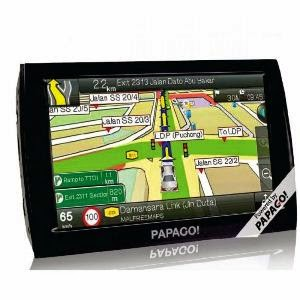 GPS Papago Z1 GPS Navigation
