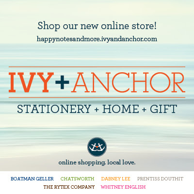 Our Ivy and Anchor Store is now Open!