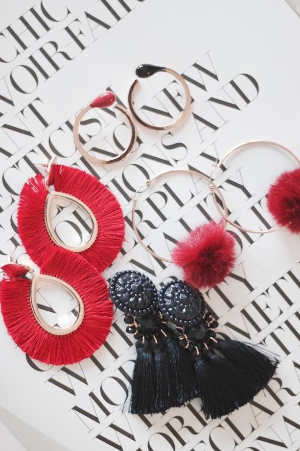 photo-pendientes-moda-grandes-flecos-pompones-aros