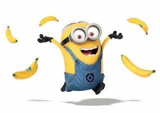 Minion Mata Dua Banana
