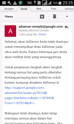 Pengalaman upgrade akun adsense hosted ke non hosted full approve