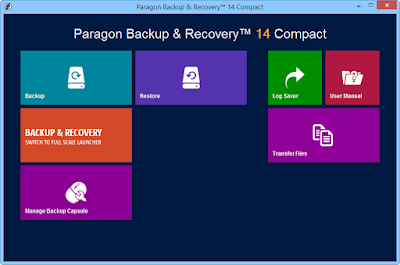 Paragon Backup Recovery Compact