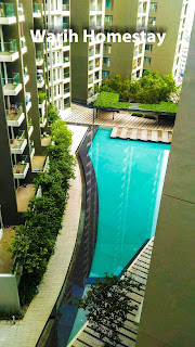 Warih-Homestay-Beautiful-Pool-View
