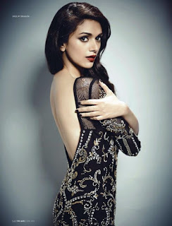 Aditi Rao Hydari in a Backless Dress