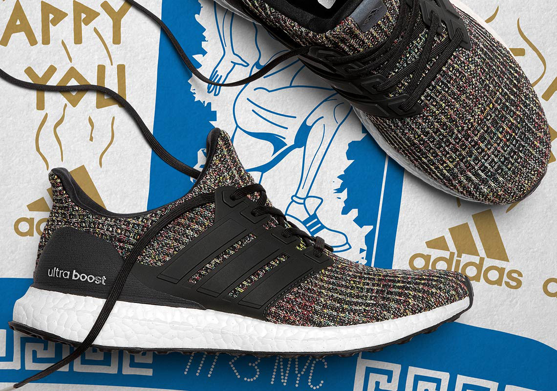the latest 13633 a6b9b adidas UltraBOOST Pack is inspired by New York City bodegas, the 24-hour  corner stores integral to NYC culture.This pack features the UltraBOOST and  ...