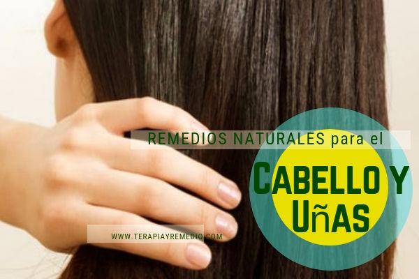 Remedios naturales para el cabello y las uñas, tratamientos naturales