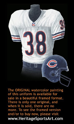 Chicago Bears 1999 uniform