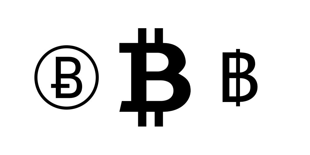 Unicode x Drops amongst a Bitcoin Currency Symbol - Highest Ever Trading