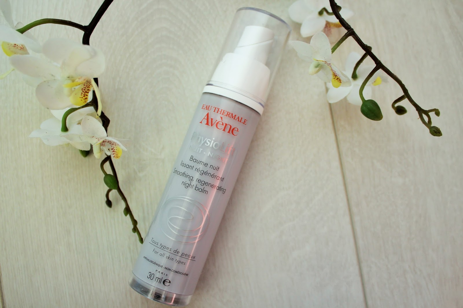 Avene PhysioLift range - Anti-Ageing skincare - night cream