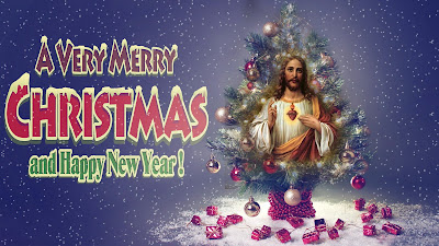 Christmas images with Jesus