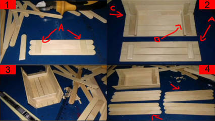 Cara Membuat Kapal Nelayan dari Stik Es Krim Beserta Gambarnya