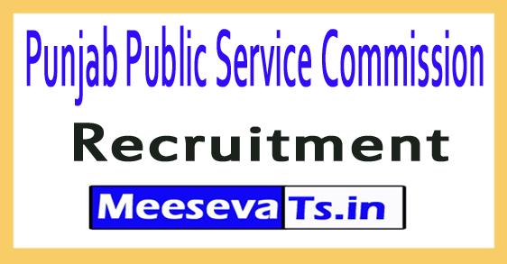 Punjab Public Service Commission  PPSC Recruitment