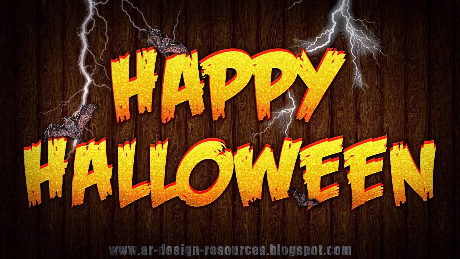 Halloween Text Effect — Photoshop Tutorial