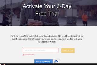 Trial Account Nord VPN