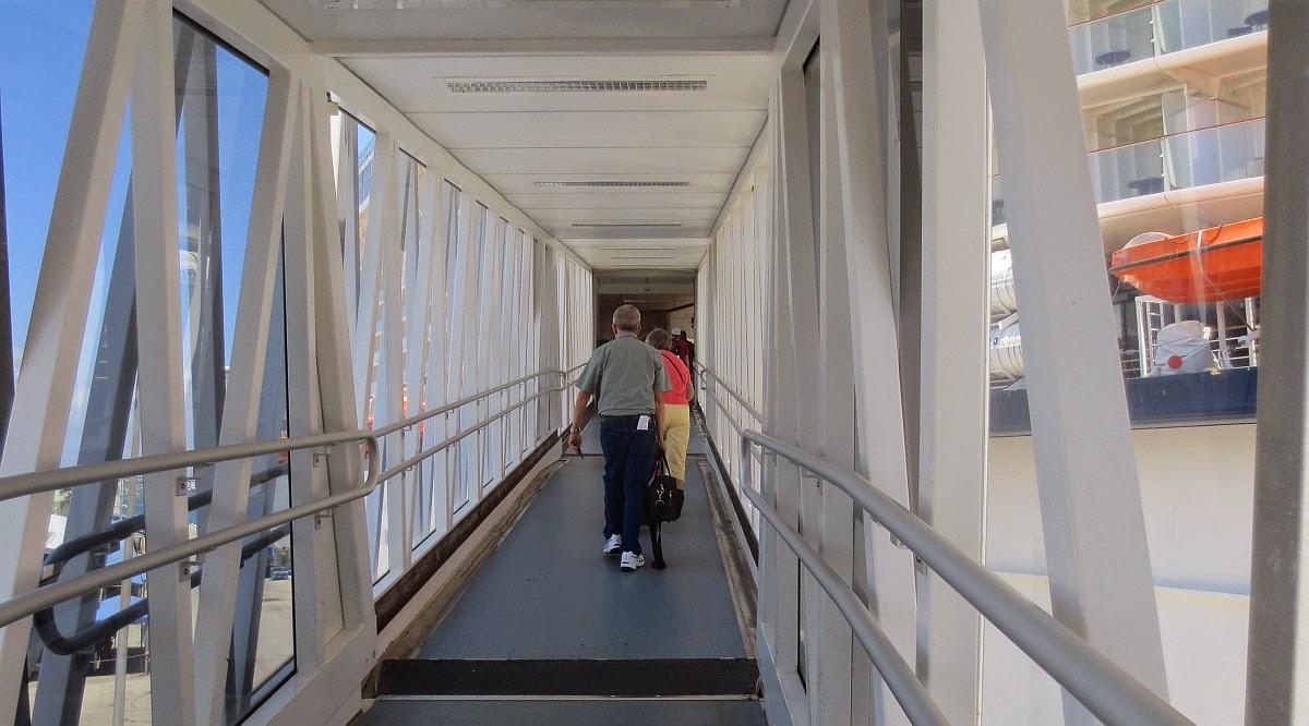 Einschiffung in Fort Lauderdale