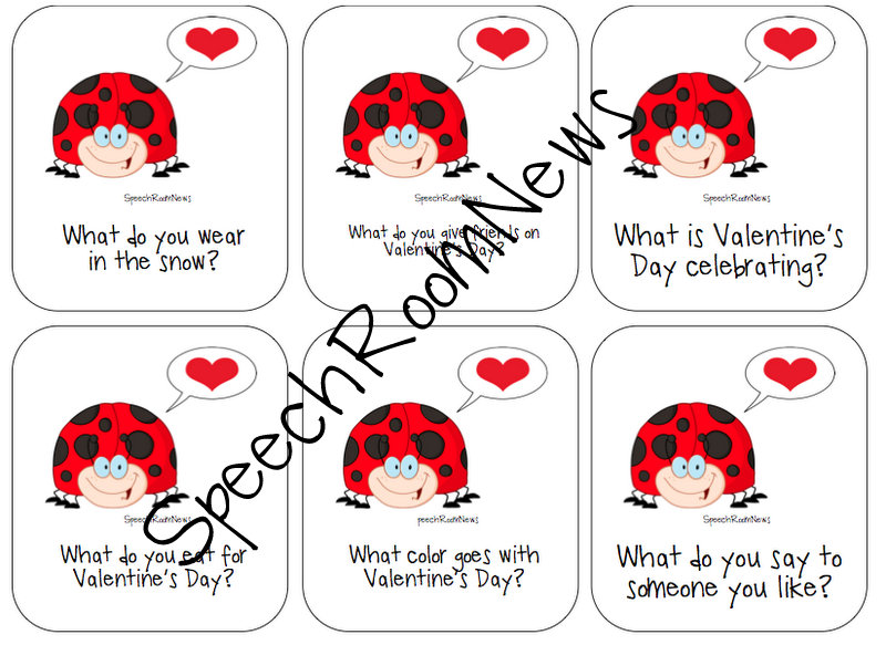 Speech Room News Valentine S Day Receptive Expressive