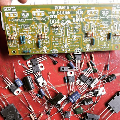 Making power amplifier circuit