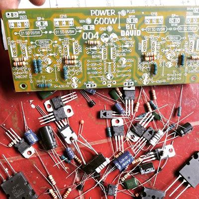 Making power amplifier circuit