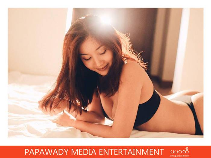 Lu Lu Aung Beautiful Selfie Shots , Studio Swim Suit Photoshoot , Traveling In Myanmar in April