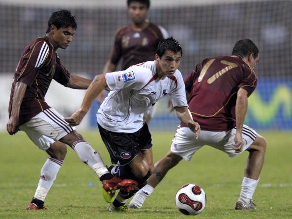 Venezuela y Chile en Clasificatorias a Sudáfrica 2010, 19 de junio de 2008