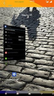 Custom Rom Cyano X3 for Advan S5E
