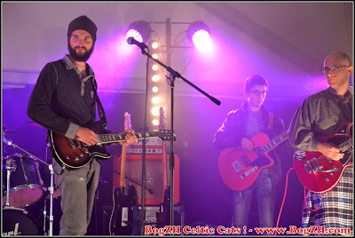 Groupe breton de rock celtique punk-folk  BogZH Celtic Cats ! Nantes