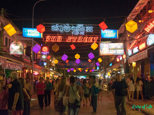 Day 4 & 5: Pub Street, The Old Market (Night & Morning) @ Siam Reap, Cambodia