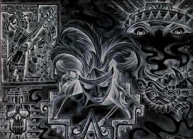 Anastasia Aztec- Yearbook- Backgrounds And Boarders