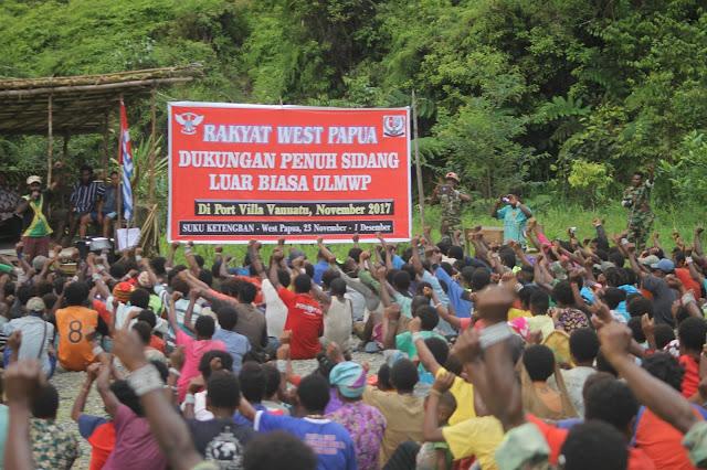 "Rakyat West Papua ""Suku Ketengban"" Mendukung Sidang Luar Biasa ULMWP di Vanuatu"