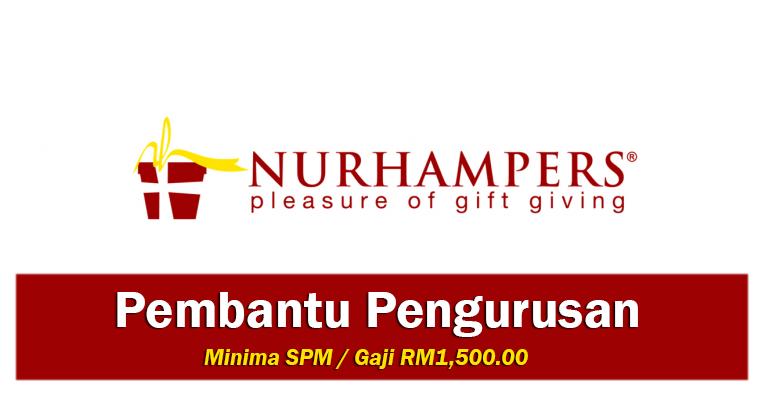 Jawatan Kosong di Nurhampers Creation Sdn Bhd