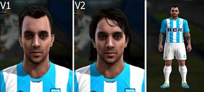 Face Ezequiel Videla, Liga Argentina Pes 2013